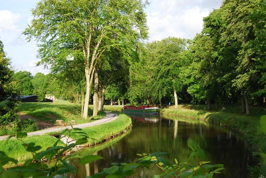 La Bretagne et la trans-armoricaine à vélo, par bois, canaux et chemin de halage